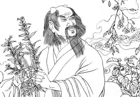 东汉时期的《神农本草》中记述了以下故事
